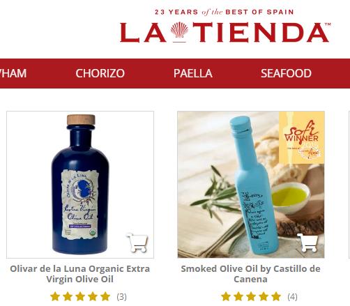 Los alimentos de #Andalucía tienen un lugar especial este verano en @latiendadotcom, el mayor punto de venta online de comida española en #EEUU, mediante una promoción que desarrolla #ExtendaContigo.   Hoy domingo, a las 20 horas, te hablamos de ella en @7TVAndalucia ¡Atento! https://t.co/wcUH9rx1fl