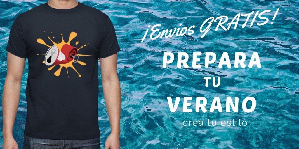 Envios gratis desde la primera unidad.   https://t.co/dXa4rkfWRK  #camisetas #camiseta  #tshirt #Tshirts #compras  #calor  #sol #vacaciones #cerveza #verano2020 #refresco #ferias #naturaleza #sol #playa #mar #summervibes #retro #vintage #fiesta https://t.co/Md2OjdbIXR