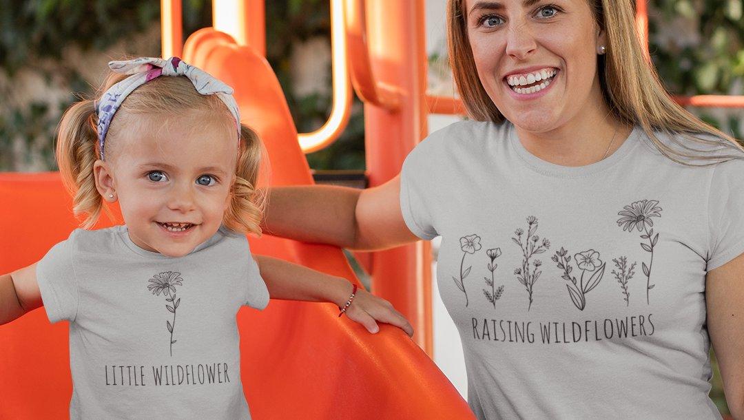 (っ◔◡◔)っ  RAISING WILDFLOWERS and LITTLE WILDFLOWER   Mommy & Me.....so cute! https://soo.nr/74T5 . . . . . #momlife #mom #family #toddler #childhood #love #cute #motherdaughter #stylish #mommyandme pic.twitter.com/0041yd3pNi