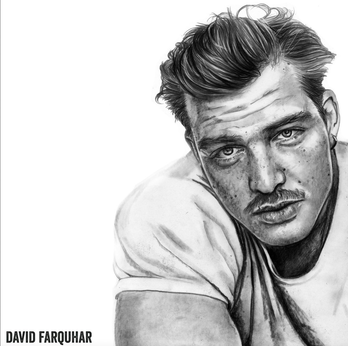David, Pencil Drawing 2020. Based on a photograph of actor David Schuetter by Max Sonnenschein #pencil #artist  #instadraw #lifedrawing #draw #portrait #traditionalart #design #sketch #lines #linework #sketchaday #daily #instadaily #textures #artdaily  #paper #pen #davidschuetterpic.twitter.com/L4nbOAAG9j