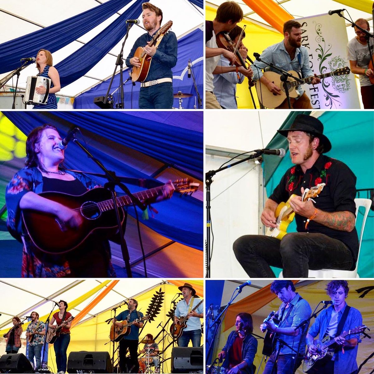 Today's #SarkFolkFestival #flashback goes to 2014 and what looked like a great year going by these pics... https://t.co/T9QfleRPGf  #music #livemusic #musicfestival #sark #channelislands @sarkfolkfest https://t.co/op97k21xnz