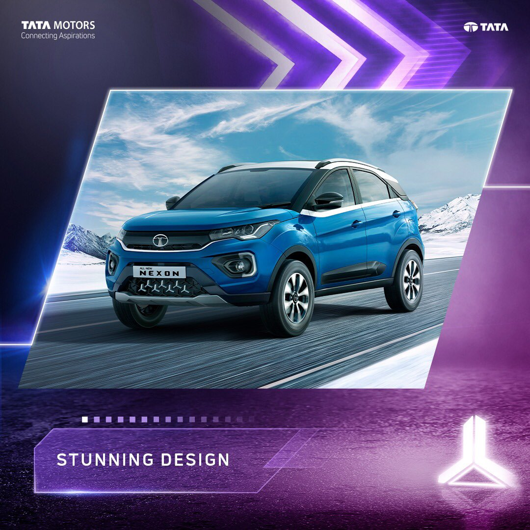 To know more about the All New Nexon, follow @TataMotors_Cars