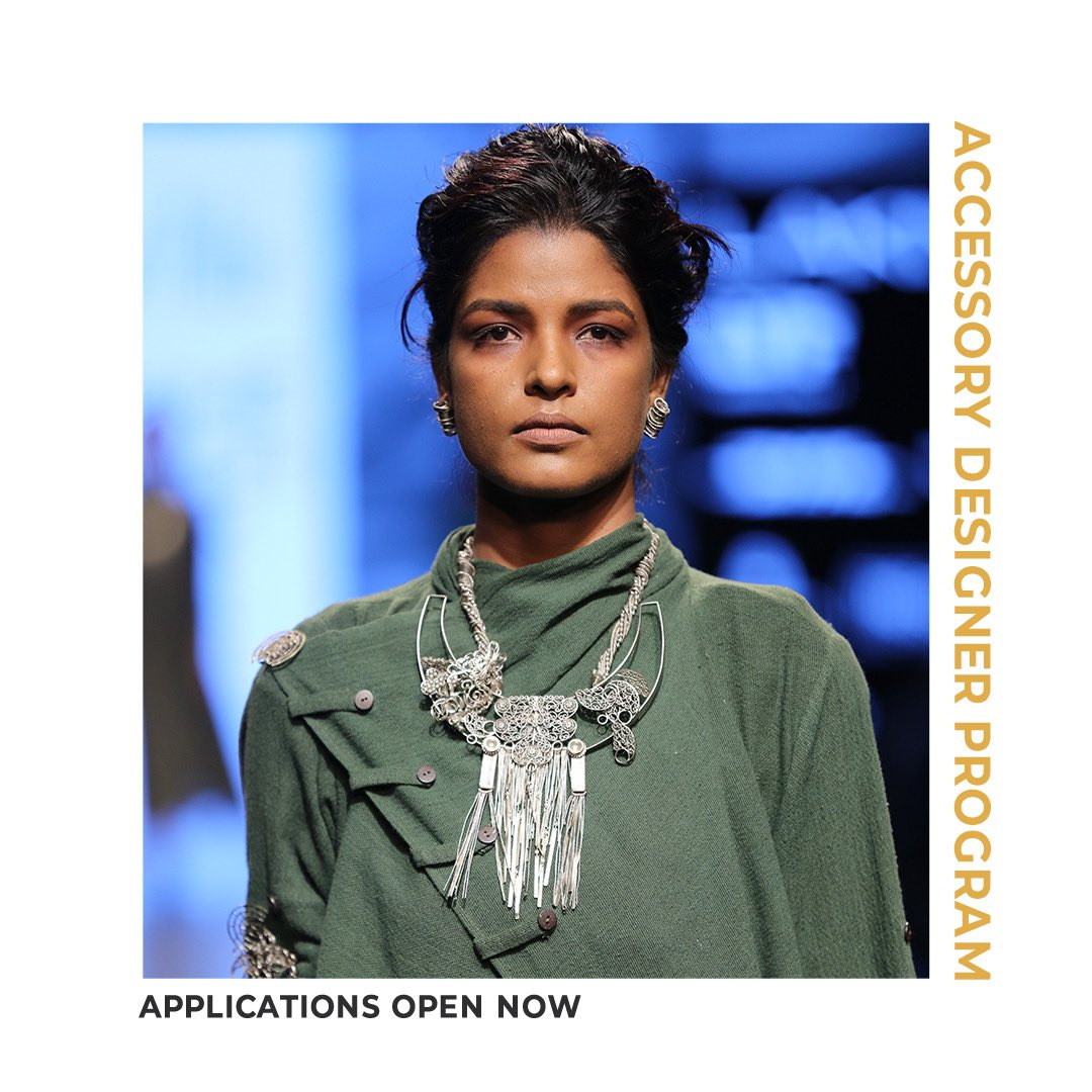 Calling all accessory designers. Display your creations on the Lakmé Fashion Week runway & carve a niche for yourself in the world of fashion.  Apply for the #AccessoryDesignerProgram here: https://t.co/ZPVgS73XD7  #LakmeFashionWeek #LFW #LFW2020 #5DaysOfFashion https://t.co/QmnazRYwZo