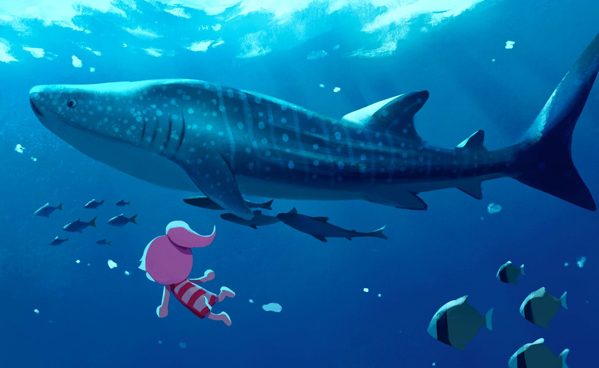 What if we could see the creatures down in the deep sea 👀🌊 #acnh #animalcrossing