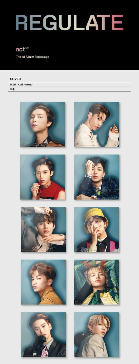 Also anyone wanna join order for NCT 127 1st Repackage Regulate album(individual cover)? Each member 1 slot. So slots needed for taeil taeyong johnny yuta doyoung jaehyun winwin jungwoo haechan  Do reply if you wanna join + which member  #NCT127 #REGULATE https://t.co/mEp1i3HOhZ
