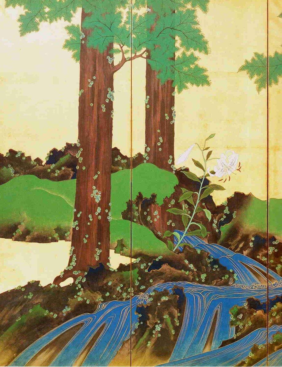 The joy of wading across a summer stream sandals in hand.  Yosa Buson   Suzuki Kiitsu #haiku #Japan