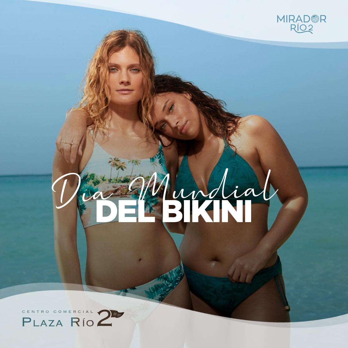 Y es que con julio llegan las largas jornadas al sol y los chapuzones. Échale un vistazo a las colecciones de baño #etam, @hmespana o @womensecret y celebra el día mundial del #bikini o ¿eres más de bañador? #PR2ParaTodos #PlazaRío2 #MadridRío #DíaMundialDelBikinipic.twitter.com/JFQkC5rKuE