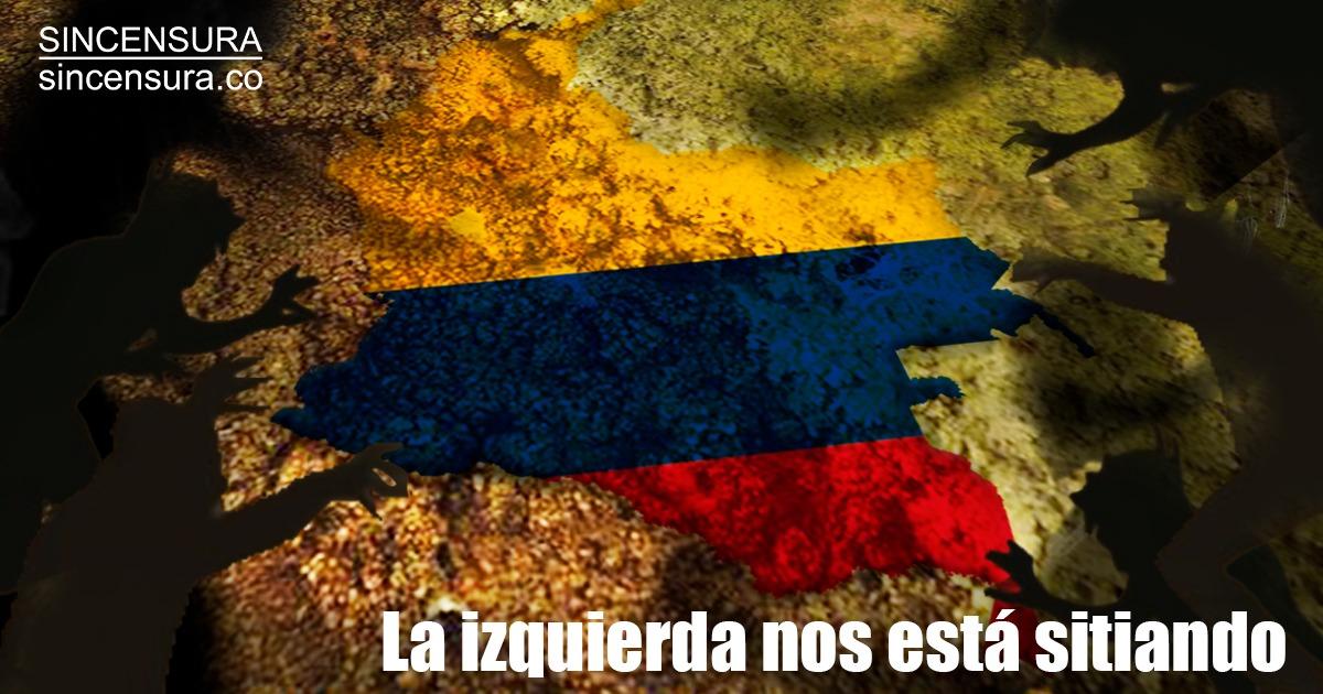 Por todos los frentes, la izquierda #NosEstáSitiando, nos está atosigando, asfixiando. No hay semana que no inventen una nueva acción contra aquellos que han tenido el valor de enfrentarlos, empezando por el presidente Uribe  Lea a Abelardo De La Espriella https://t.co/eXoiIrOsvd https://t.co/FWPKyUmtCo