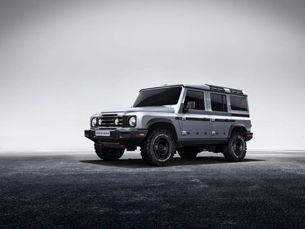 #INEOS reveals rugged #Grenadier #SUV https://t.co/3AvimzEIwN https://t.co/VO1g6vDqTN