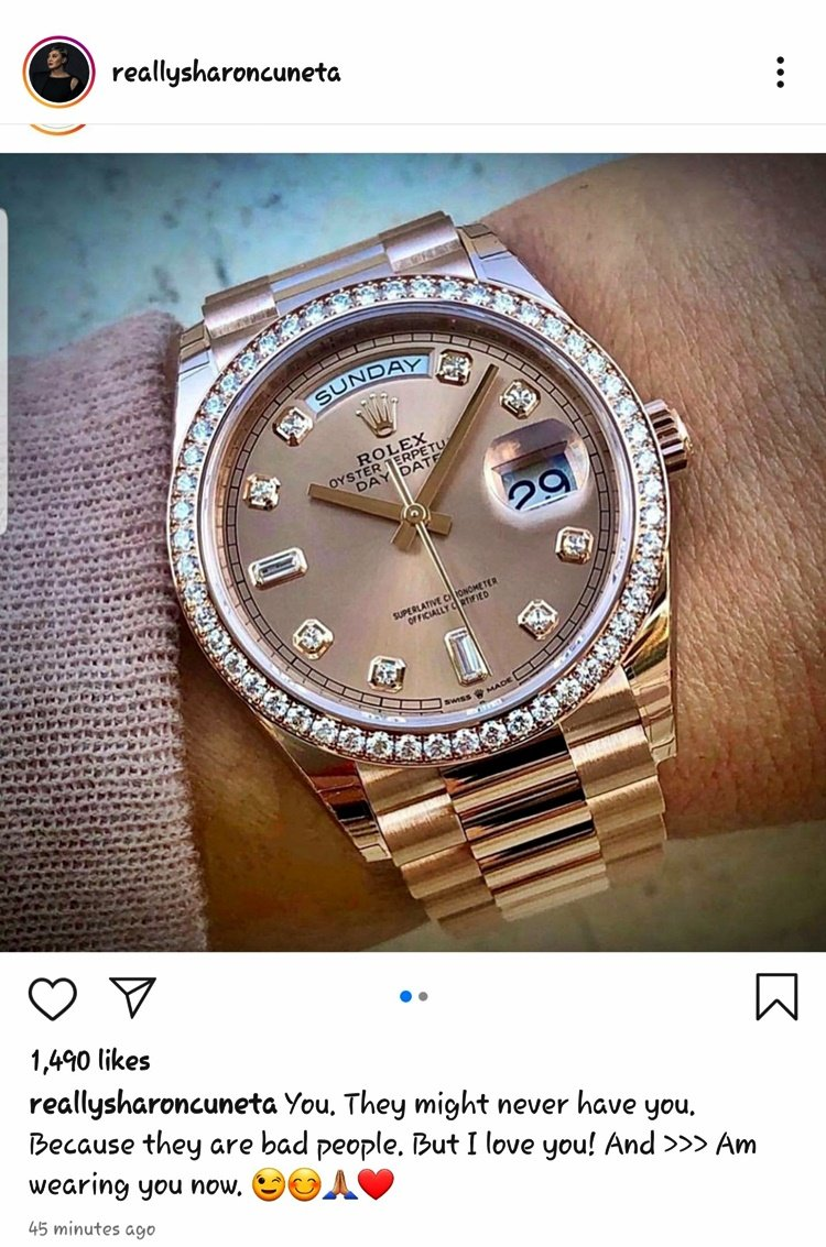 I'm pretty sure a lot of bad people have that rolex.  Photto:Ctto pic.twitter.com/oc9hqYyb2m
