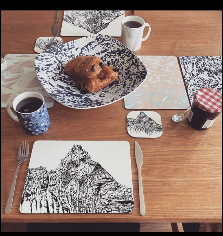 Do you ski? Snowboard? Climb ? Have a look at Georgina Hall textiles for some lovely unique home accessories. #matterhorn #everest #montblanc #homeaccessories https://t.co/bcTkHTCzsG. https://t.co/aay1kyC7sZ