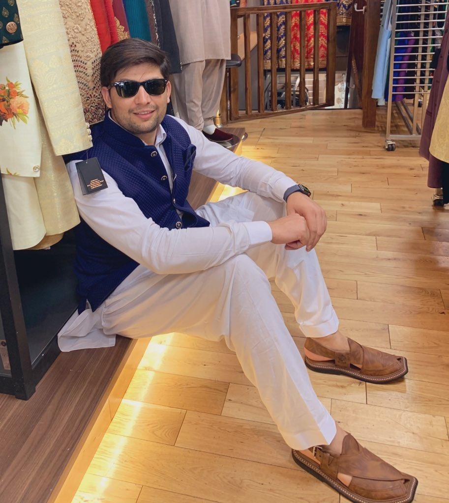 Eid shopping 🛍 don't forget my new Peshawari chappal.