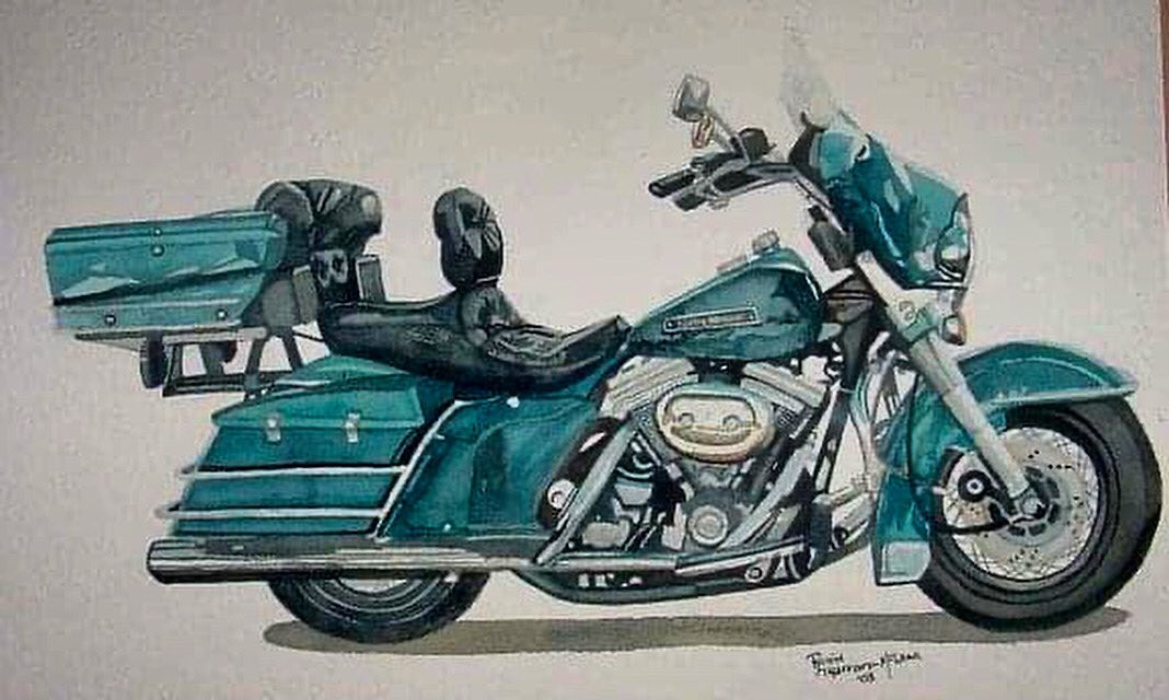 Commissioned piece from a few years ago.                                                 #watercolours #watercolourpainting #watercolourart #watercolor #watercolorart #watercolorpainting #art #painting #paintings #motorcycle #motorcycles #motorcyclelovers #motorcyclelifepic.twitter.com/vB2KzwnSRn