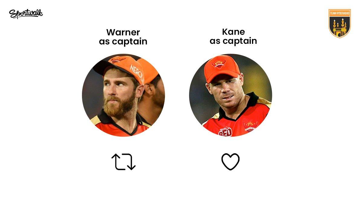 🤔 Make your pick!  📷 IPL/AP | #davidwarner #Williamson #Warner #bhuvi #bhuvneshwarkumar #kanewilliamson #IPL2020 #IPL #vivoipl #Orangearmy #SunrisersHyderabad #SRH #indiancricketteam #indiancricket #bleedblue #indianpremierleague #Lovecricket #cricket #Hyderabad #Sportwalk https://t.co/BqZF1uPVai
