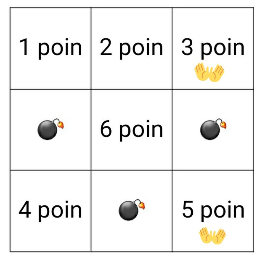 •       + 3 + 5 = 8 Poin https://t.co/Ptr1m7QYcs