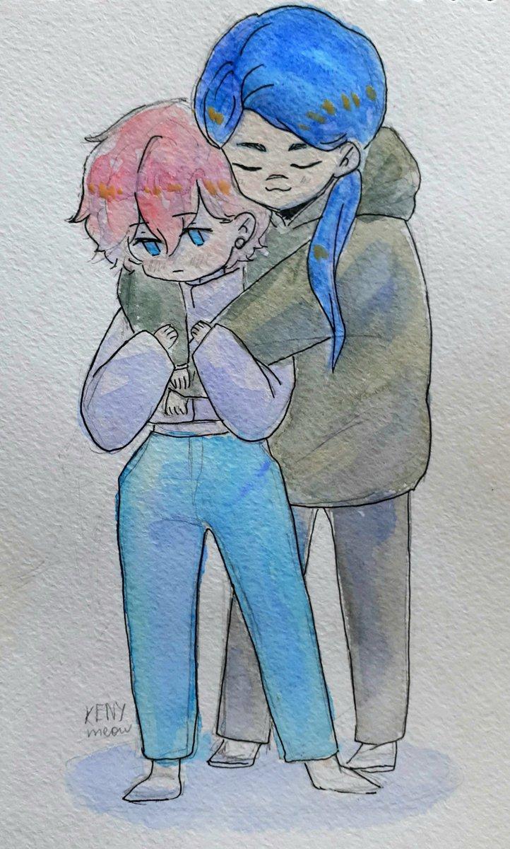 Мальчики, которые заслуживают много любви #watercolorart #watercolorsketch #watercolor #sketch #sketchbook #sketching #arts #art #drawing #draw  #oc #portrait #originalcharacter #animeboy #anime #акварель #рисунок #артpic.twitter.com/VATRJw8QSs