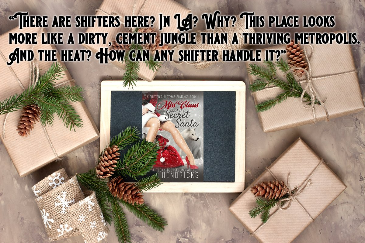 """""""There is nothing better than the magic of love.... well maybe the magic of love at Christmas."""" Find out why everyone is loving this light-hearted shifter romance about Santa and his family. https://buff.ly/2qGZRp7 #MerryChristmas  #ShelterInPlacepic.twitter.com/9CtVDjvz0G"""