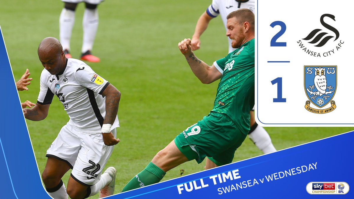 Defeat for the Owls at the Liberty Stadium #swfcLIVE https://t.co/8kM64yJGJL