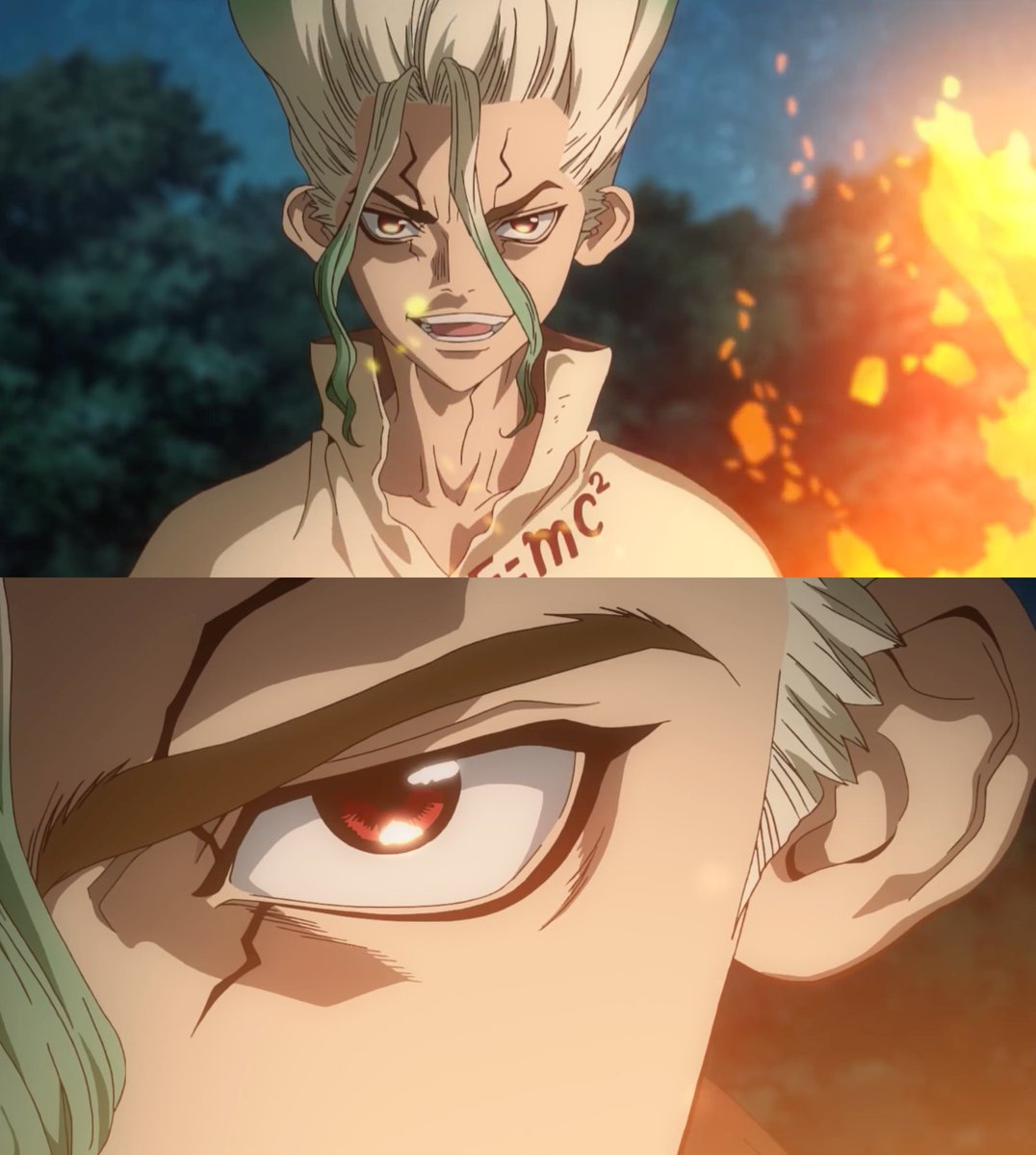 """A year ago, Senku woke up, and we listen to """"OHAYOU SEKAI, GOOD MORNING WORLD!"""" for the first time  (via @DrStone_EN)<br>http://pic.twitter.com/sp6lhQAtok"""