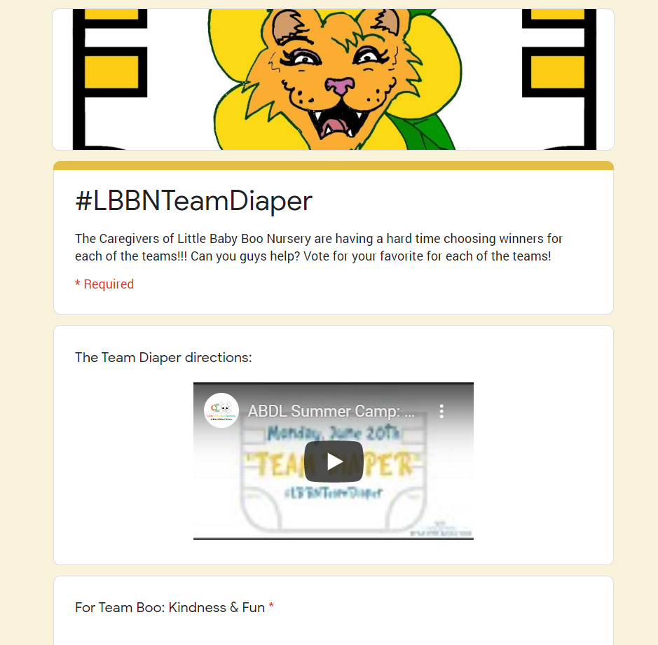 We need your help! We couldn't choose winners for #LBBNTeamDiaper! All of them were SO CUTE & SWEET! Vote for 1 for each team: https://t.co/fB9feBulOk #abdlsummercamp #abdl #littlespace #abdlcommunity  #adultbaby #diaperlover #littlespacecommunity #littlelifestyle#littlescrafts https://t.co/hQeUnvTvQI