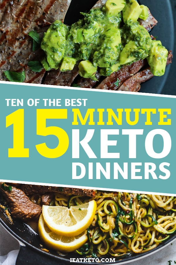 FollowMe! Sticking with the Keto diet can be tough at times, so making things as simple as possible is the key to avoid falling off the wagon. https://www.ieatketo.com/10-of-the-best-15-minute-keto-dinners/…pic.twitter.com/ttJTWHUM0O