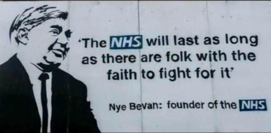 Today the NHS is 72 years old! The creation of it was the most Socialist thing a Labour Govt has ever done. Its a glimpse of Socialism.Which is a big reason why the Tories have slowly been destroying it 4 years & we have to stop them. No American system for us #NHS72 #SavetheNHS<br>http://pic.twitter.com/ClMR0WTp40