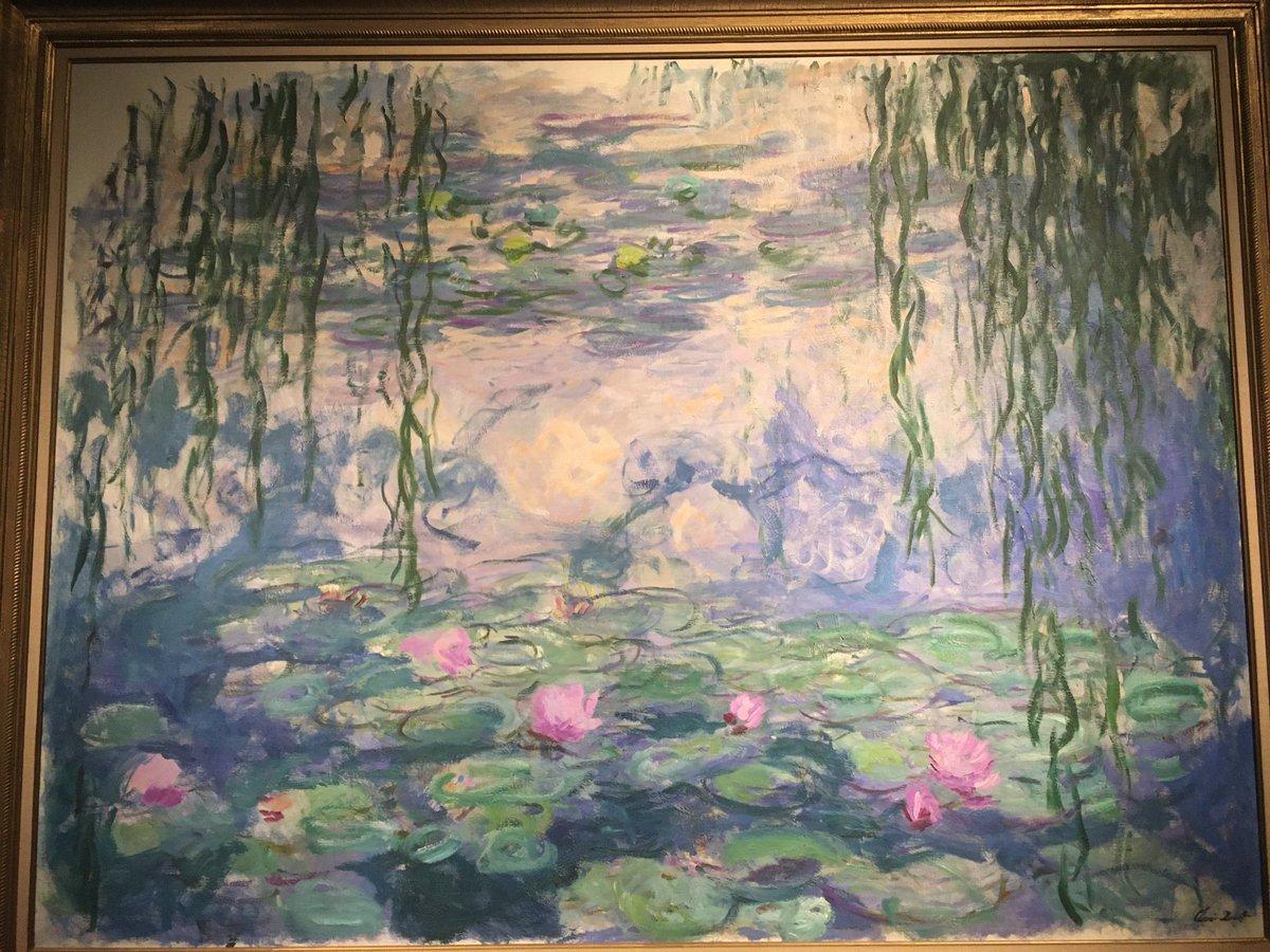 Le Ninfee di Monet #palazzoducale #genova pic.twitter.com/Teq1ZeEUZ2