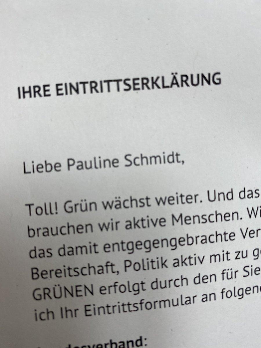 Herzlich Willkommen, Pauline! 👏✌️