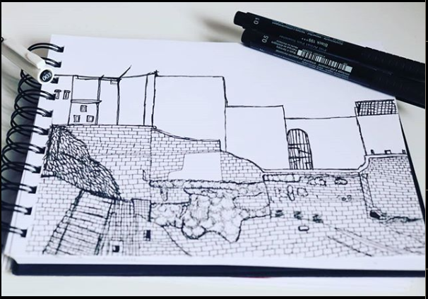 Hold house ruins I need to post more stuff here , sorry for that and yes i dont know how to draw stairs. Follow for more and have a nice day. https://www.instagram.com/p/CCQqrrdBAY-/ #portugueseartist #artwork #ink #inkart #inking #house #drawings #oldhouse #ruins #buildings #art #artmaterialspic.twitter.com/S0aXF4F0uC