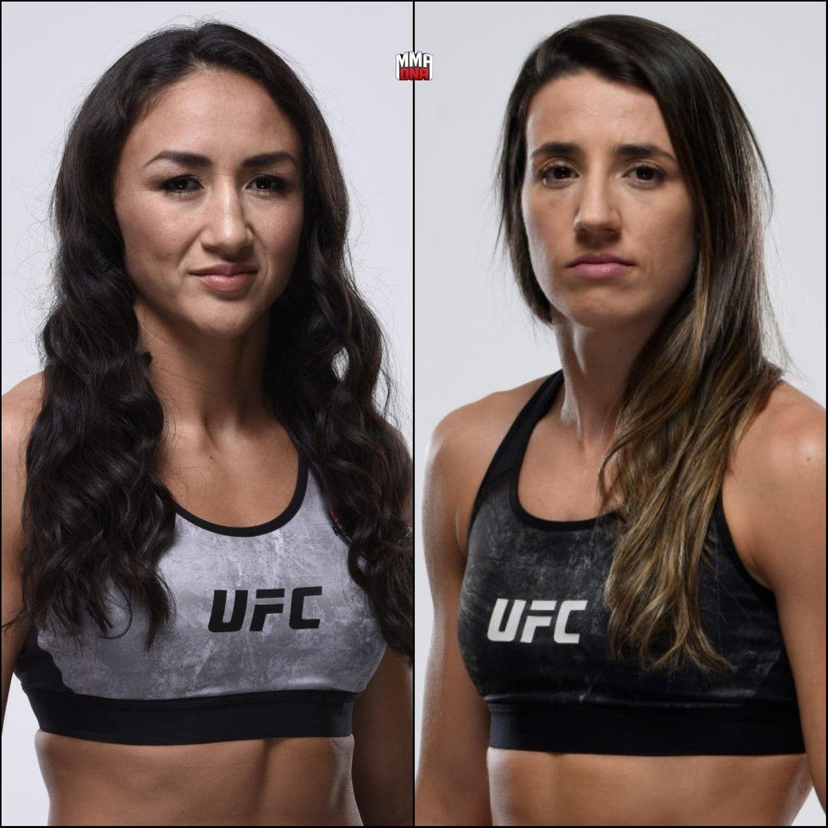 Carla Esparza will fight Marina Rodriguez at UFC event on July 25th. (per @MMAFighting) #UFC #MMA #UFCESPN 🏝 https://t.co/Z96L8YakLq