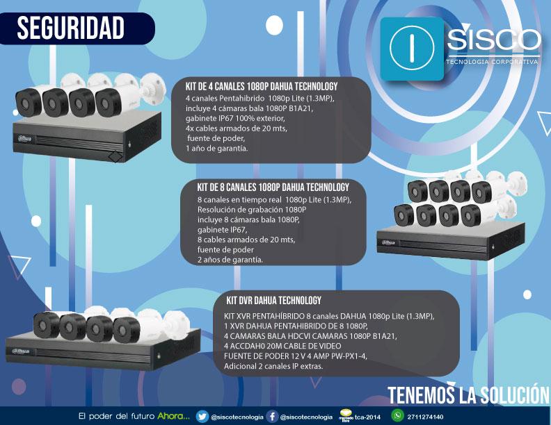 La seguridad de tu familia y la tuya primero. Tenemos para ti los mejores precios en cámaras de seguridad. 📱👀💥🎥🔒 Visitanos en nuestra página web siscotecnologia.com/tienda/ #Sisco #Tecnología #Seguridad #CCTV