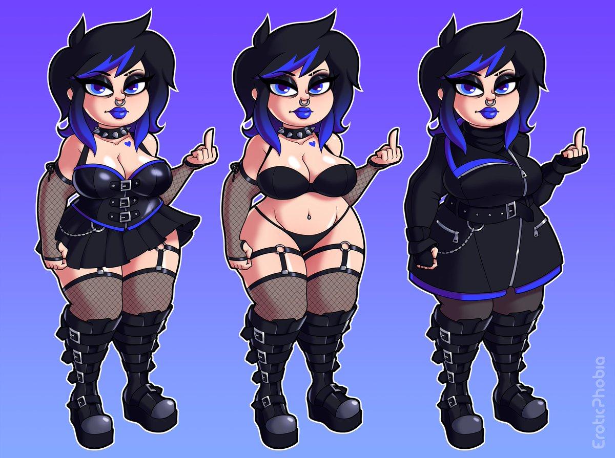 Gothic girl bondage