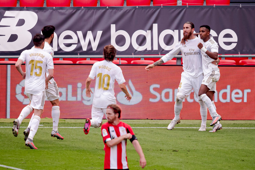Xem lại Athletic Bilbao vs Real Madrid, La Liga – 5/7/2020