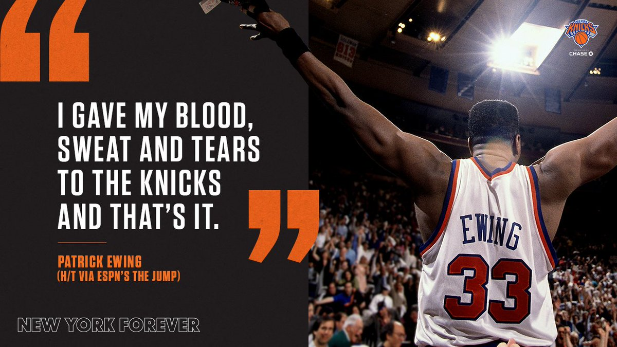Thank you, 33.  Patrick Ewing Week begins tomorrow on @MSGNetworks 🚨 https://t.co/rxK31AWqqP