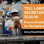 Image for the Tweet beginning: Take action: Tell Labor Secretary