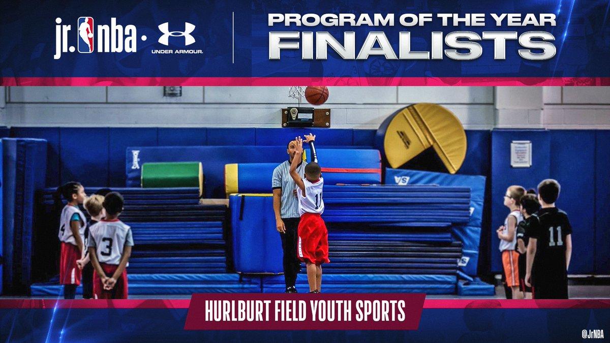 Check out #JrNBAProgramOfTheYear Finalist, Hurlburt Field Youth Sports!   Hurlburt uses sports as a bridge to develop young minds on and off the 🏀 court! Congratulations Hurlburt‼️ https://t.co/Ucv2a0giIH