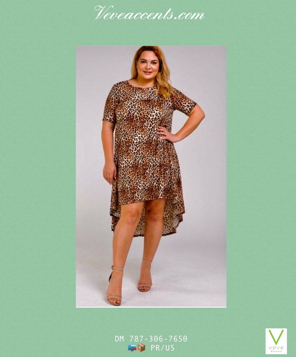 Beautiful leopard print hi/lo dress. Exclusive in Plus Size.  🥰🇵🇷❤️ #apoyalolocal #fashion #summer #fashionlover #elegance #style #onlineshopping  ⠀⠀⠀⠀⠀ https://t.co/gs76Q1eE3m / DM(787)306-7650 / 📪📦 Se hacen envíos PR/US https://t.co/JFLP0PwY6o