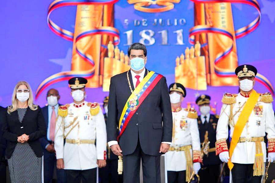 """📣 #DeInterés    CJ @NicolasMaduro: """"Quiero elevar mi felicitación, de manera especial, a los número 1 de cada promoción. Ustedes son el orgullo de sus promociones. Manténganse leales, disciplinados, con espíritu y honor militar, comprometidos con el pueblo y con la Patria"""". https://t.co/IQPi21FzVS"""