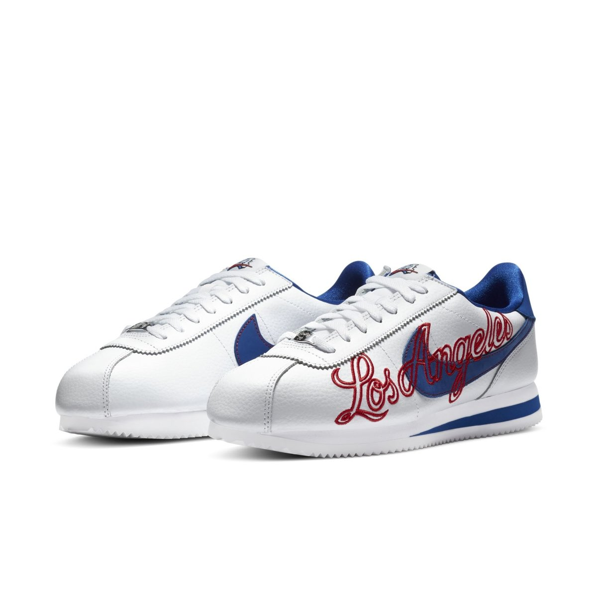 """An official look at an upcoming Nike Cortez """"Los Angeles"""" colorway 👀🔥"""