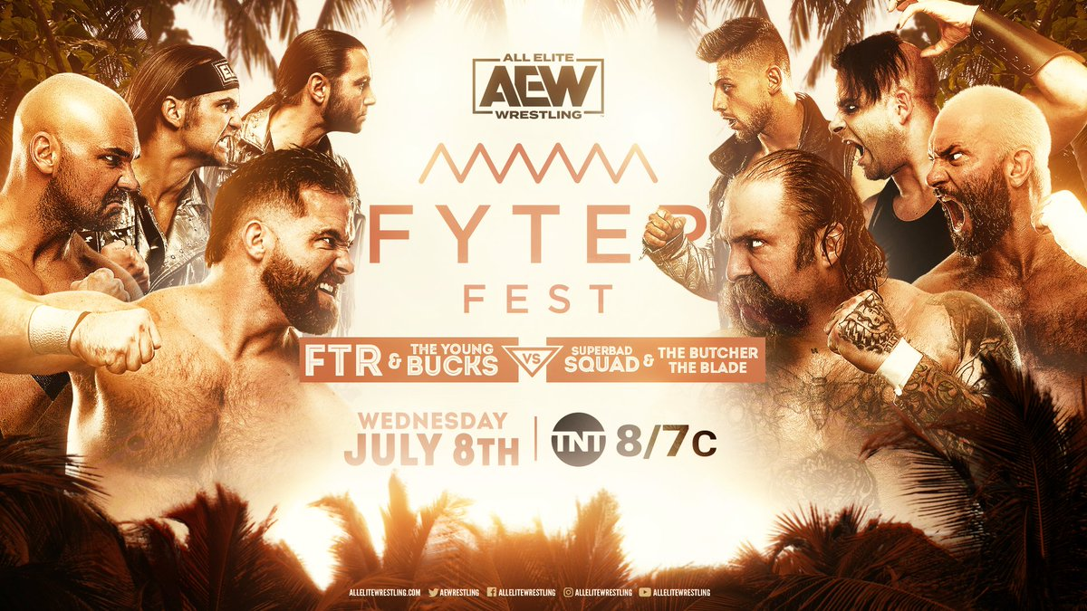 This is going to be the best type of CHAOS   Don't miss the 6 man tag team match this Wednesday at #FyterFestpic.twitter.com/10goKJiF2O  by wrestling-point.de