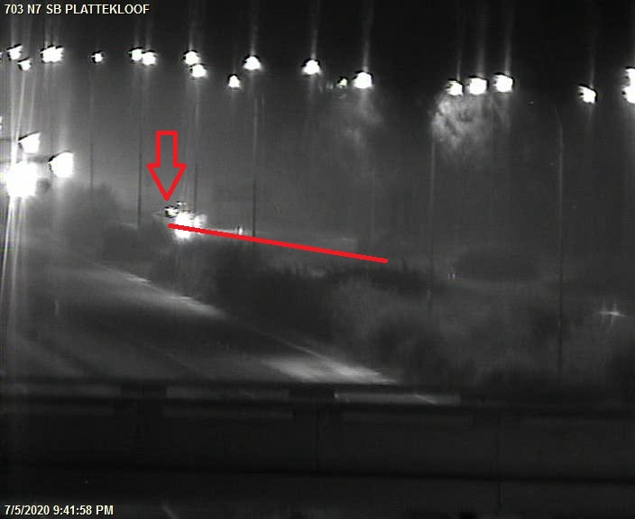 Update: #Road_Closure due to Protesting: N7 Northbound at Plattekloof and Southbound at Potsdam, Use Alt Route, No delays #CoronaVirusSA #StayHomeSaveLives #StayHomeStaySafe #SeeAndBeSeen https://t.co/VizvSuWaGd
