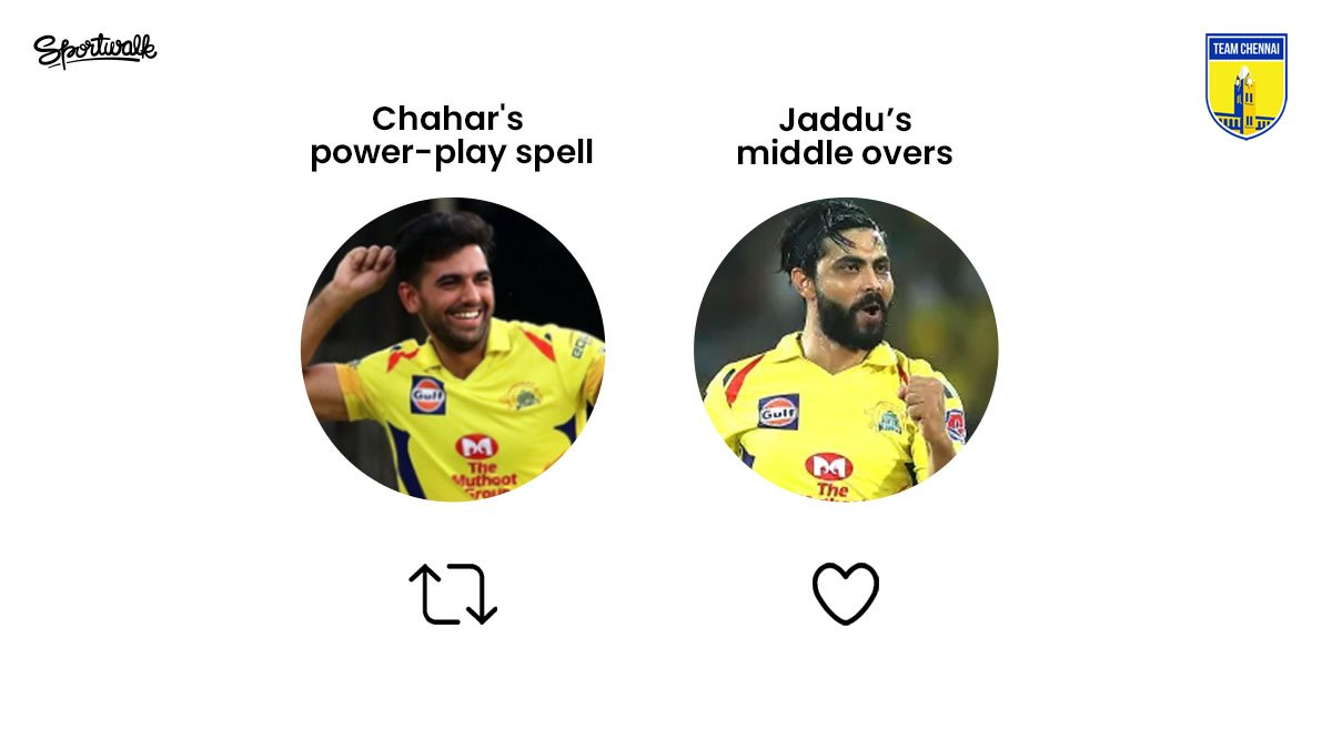 🤔 Make your pick!  📷 IPL/BCCI | #DeepakChahar #Chahar #Jadeja #DJbravo #ravindrajadeja #sureshraina #viratkohli #rohitsharma #hardikpandya #teamindia #indiancricket #bleedblue #Msdhoni #whistlepoduarmy #yellove #ipl #VivoIPL #indianpremierleague #cricket #chennai #sportwalk https://t.co/y1TpzsWly2