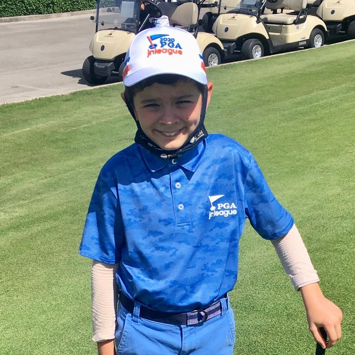 Tino (age 8) loves PGA Jr. League because he make new friends and has loads of fun while still being competitive!