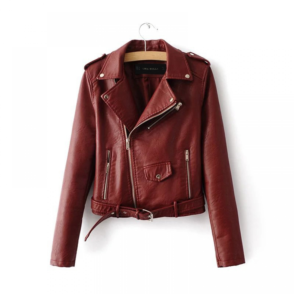 #trendalert #envywear Fashion PU Leather Jacket pic.twitter.com/GGVTikt5pg