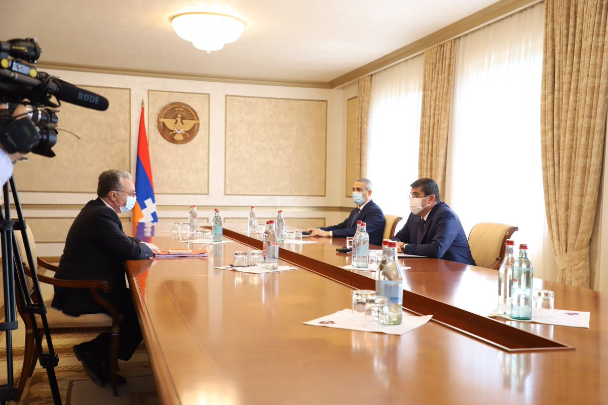 Good two day visit to #Artsakh. Held very productive exchange with newly-elected authorities on #NagornoKarabakh peace process and regional developments. People of #Artsakh stand strong as ever to protect their freedom and rights https://t.co/xaSPRJRZ5t