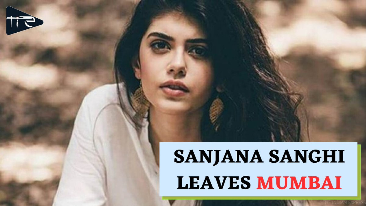 Sanjana Sanghi, the Dil Bechara actress receny.  #justiceforsushantsingh #justiceforsushantforum #dilbecharaonbigscreen #delhidiaries #justiceforsushantsinghrajput #dilbechara #ripsushantsinghrajput #delhiblogger #ripsushant #mumbaidiaries #nepotisminbollywood #sanjanasinghpic.twitter.com/X7RFYR3gNs