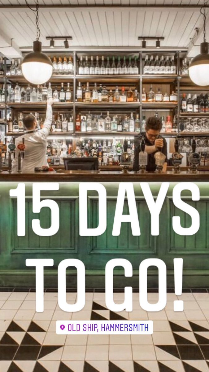 15 days to go, the old beer has gone & the new beer is on its way - Download our On Tap app📱ahead of your visit. #openingday #youngs #gin #thirsty #oldshiphammersmith #foodporn #foodie #hammersmith #chiswick #westlondon #pub #drink  #riverpub #local #dogfriendly #youngspubs https://t.co/YcRmLuPhzj