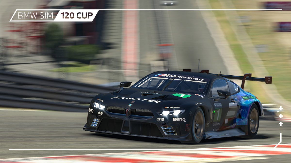 Crunchtime at Spa-Francorchamps: These two @WilliamsEsports cars battle it out for the win in the BMW SIM 120 Cup!  #BMWSIM #ForzaAlex https://t.co/wEKVwFldx5