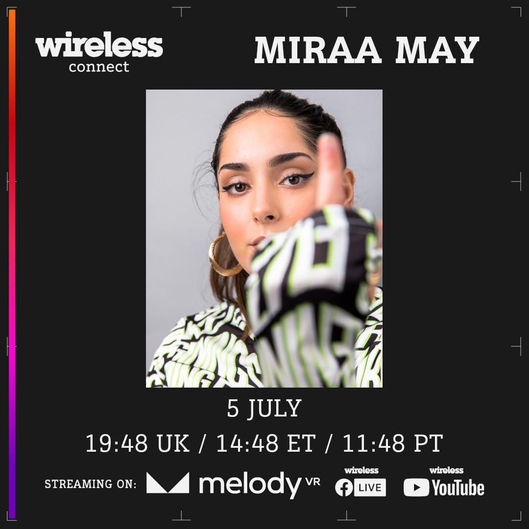 If you wanna catch my set later just download the @melodyvirtual app! @WirelessFest ❤️🇩🇿