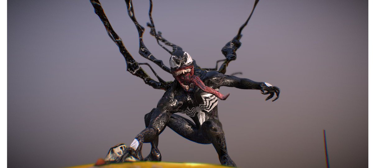 Check out this cool venom model i did in #3D, #VR or #AR https://skfb.ly/6TGsE via @sketchfab pic.twitter.com/aNtjlTgOBa